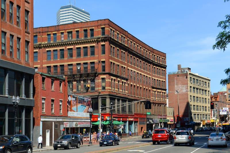 Construções históricas de Boston, Massachusetts, EUA imagem de stock royalty free