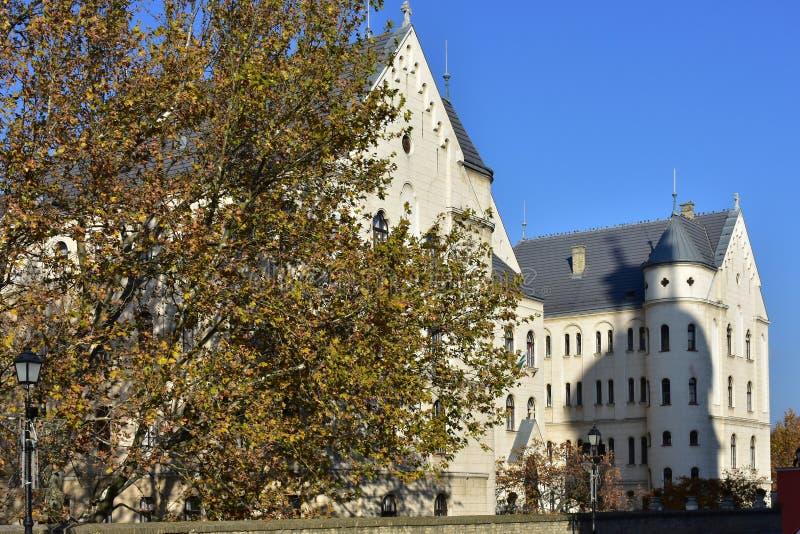 Construções históricas de Gyor imagem de stock royalty free