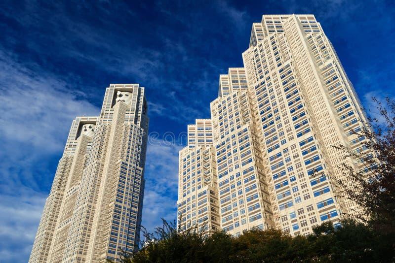 Construções metropolitanas do governo do Tóquio fotos de stock royalty free