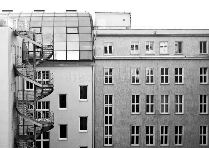 Construções modernas em Berlim imagens de stock