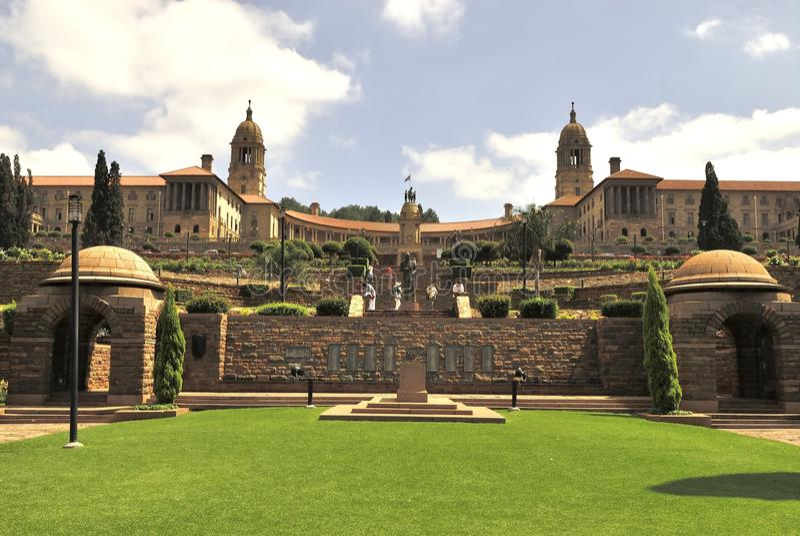 Construções Pretoria da união fotos de stock