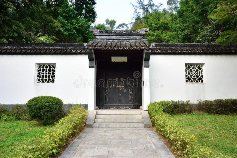Construções residenciais antigas em China imagens de stock royalty free