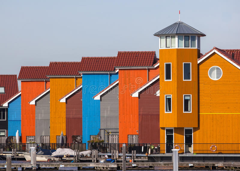 Construções urbanas do estilo europeu imagem de stock royalty free