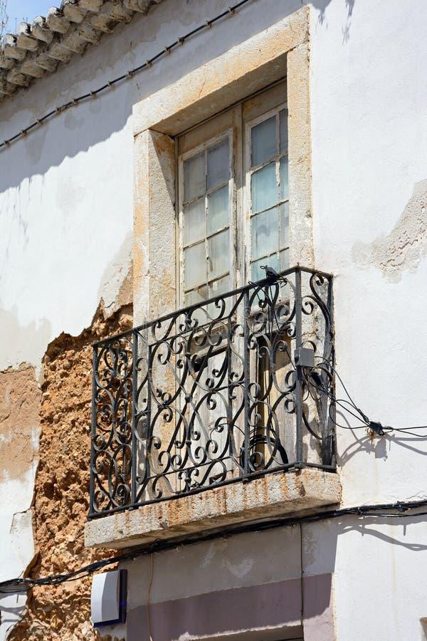 Construções velhas da cidade, Lagos, Portugal foto de stock royalty free
