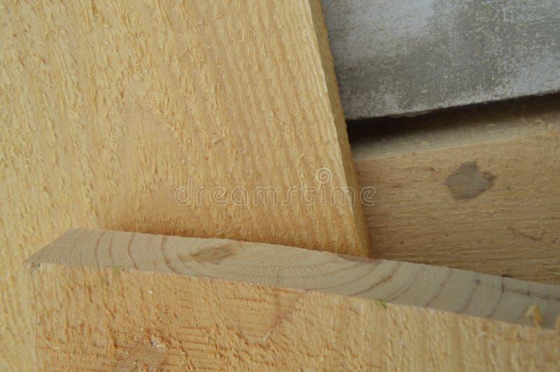 Constru??o e unidades de madeira imagem de stock