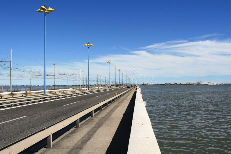 Construa uma ponte sobre a Veneza II imagem de stock