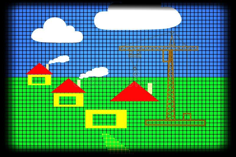 Construcción ilustración del vector