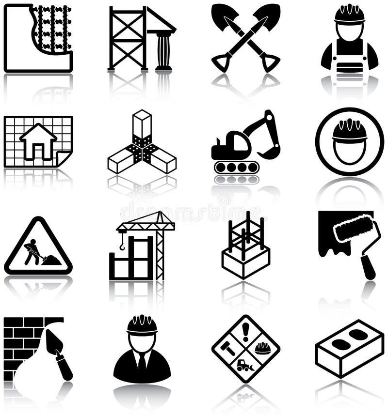 Construcción stock de ilustración