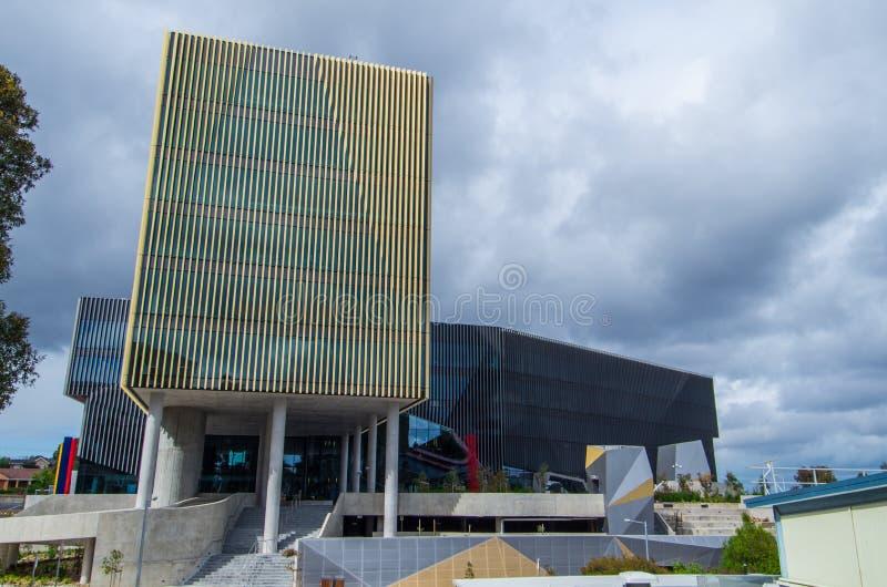 Construcción A.C. en la universidad de Deakin imagenes de archivo