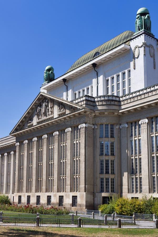 Construcción croata de los archivos de estado fotografía de archivo