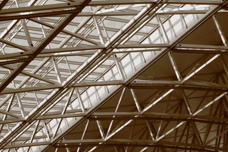 Construcción de acero 2 fotografía de archivo libre de regalías