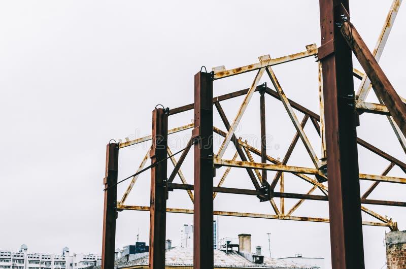 Construcción de la ciudad del edificio imágenes de archivo libres de regalías
