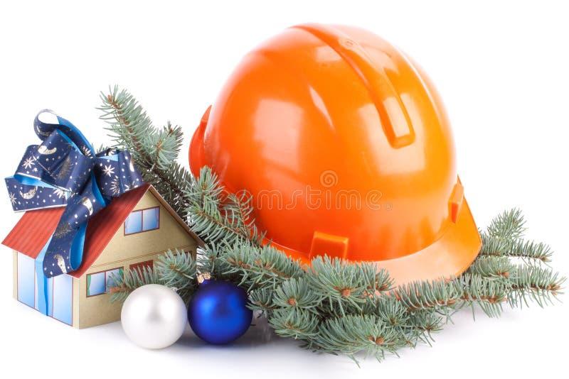 Construcción de la Navidad imagenes de archivo