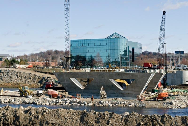 Download Construcción de la orilla foto de archivo. Imagen de puentes - 7285680