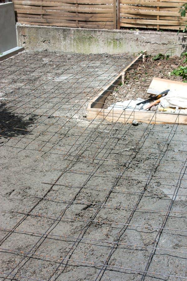 Construcción de la terraza imagen de archivo libre de regalías