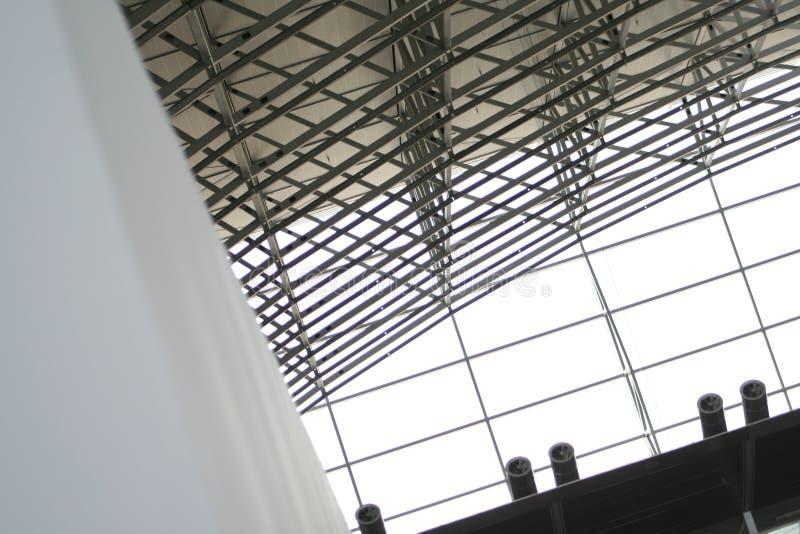 Construcción de la ventana y del acero imagen de archivo libre de regalías