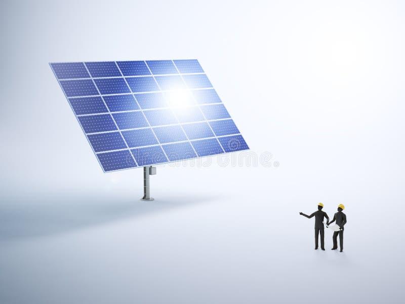Download Construcción De Un Panel Fotovoltaico Imagen de archivo - Imagen de instalación, fondo: 42432585