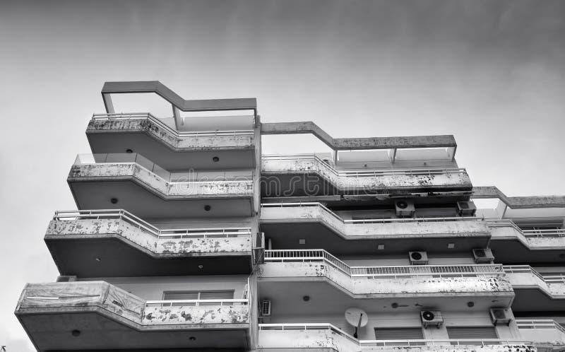 Construcción de viviendas condicionada malo fotografía de archivo libre de regalías