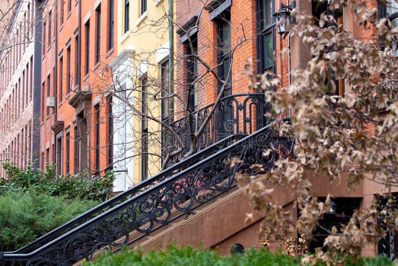 Construcción de viviendas de NYC imagen de archivo libre de regalías