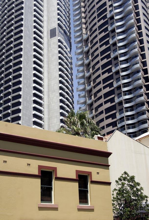 Construcción de viviendas urbana imágenes de archivo libres de regalías