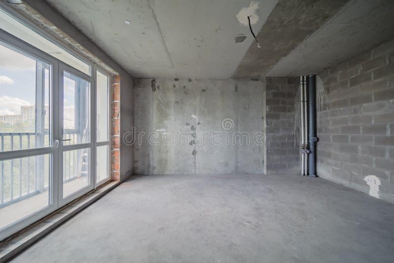 Construcción del edificio de la renovación del apartamento residencial fotos de archivo libres de regalías