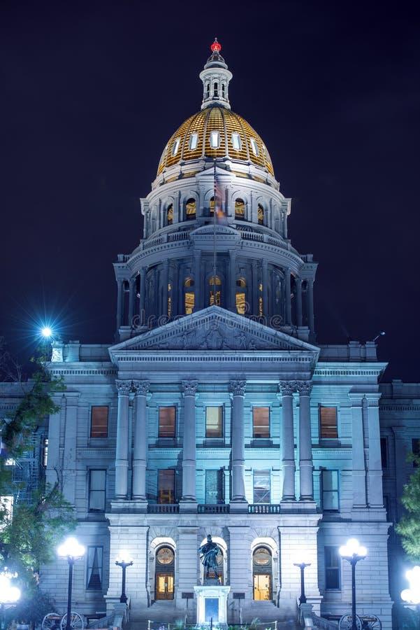 Construcción del estado de Colorado foto de archivo