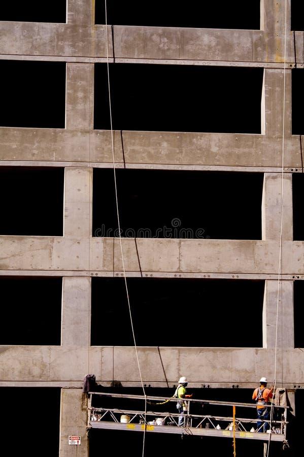 Construcción del garage de estacionamiento imagen de archivo libre de regalías