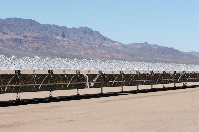 Construcción del panel solar foto de archivo libre de regalías