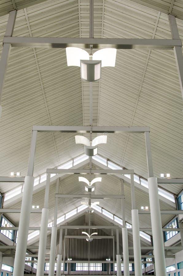 Construcción del tejado imagen de archivo libre de regalías