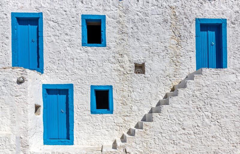 Construcción griega de los colores imagen de archivo