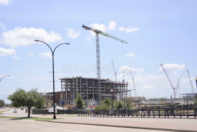 Construcción Job Site Location fotografía de archivo