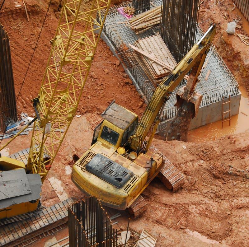 Construcción Site2 fotografía de archivo