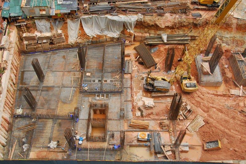 Construcción Site3 imagenes de archivo