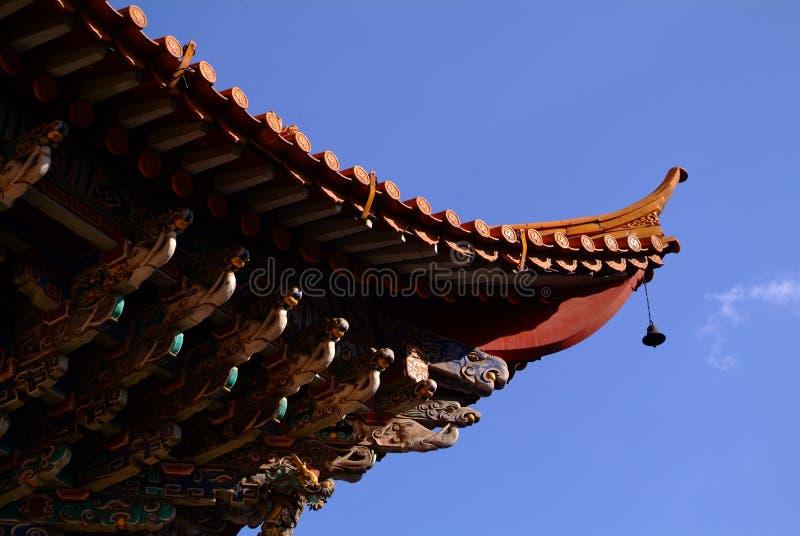 Construcción tradicional china foto de archivo libre de regalías