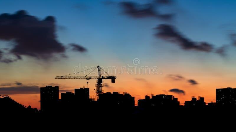Construcción urbana imagen de archivo libre de regalías