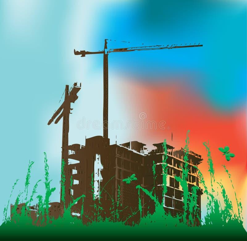 Construcción verde libre illustration
