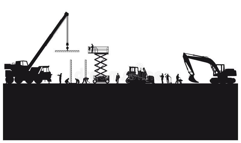 Construcción y ejemplo de la ingeniería libre illustration