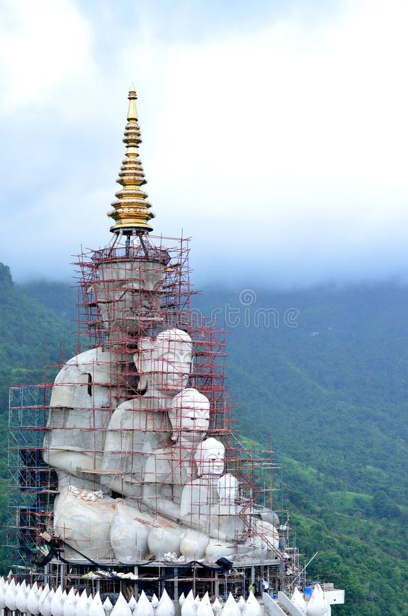 Constructed buddha royalty free stock photos