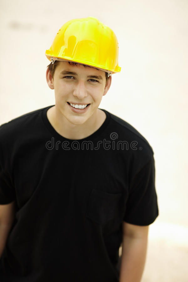 Constructeur photo stock