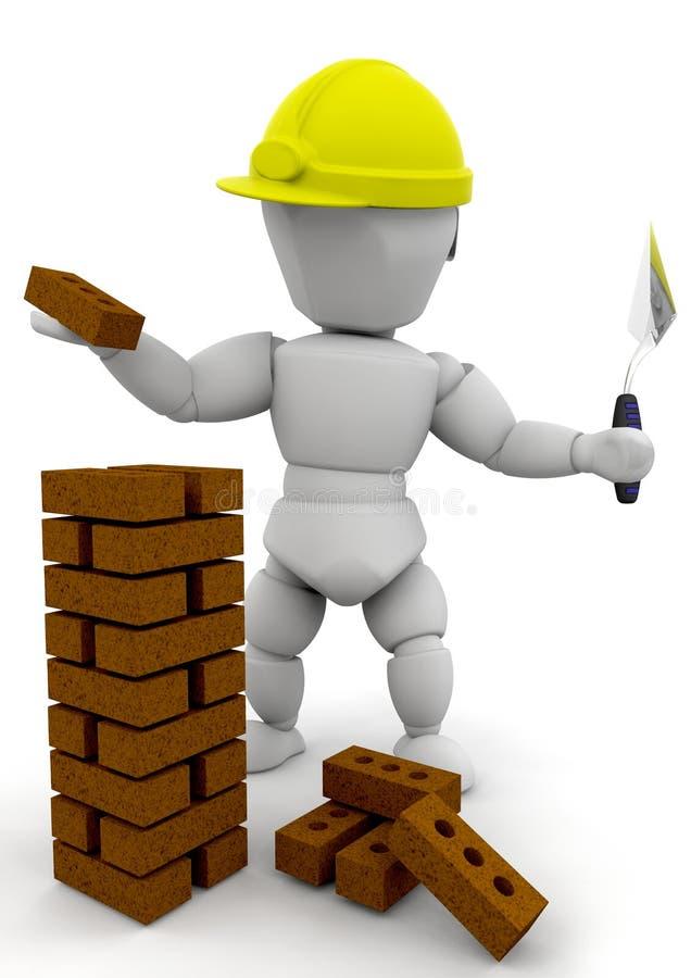 Constructeur illustration de vecteur