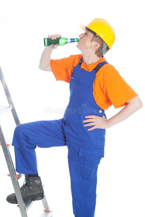 Constructeur de bière photographie stock