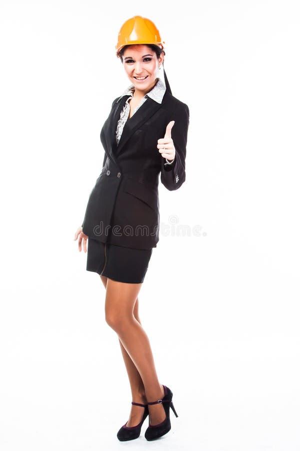 Constructeur de femme image libre de droits