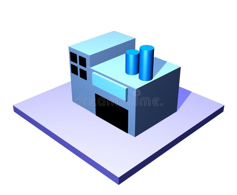 Constructeur - série de management de chaîne d'approvisionnements illustration libre de droits