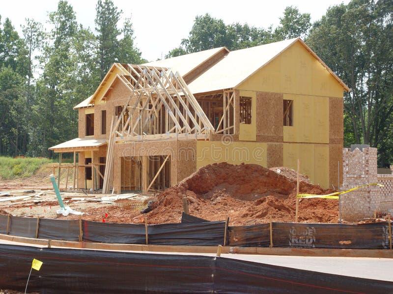 Construction à La Maison Photos stock