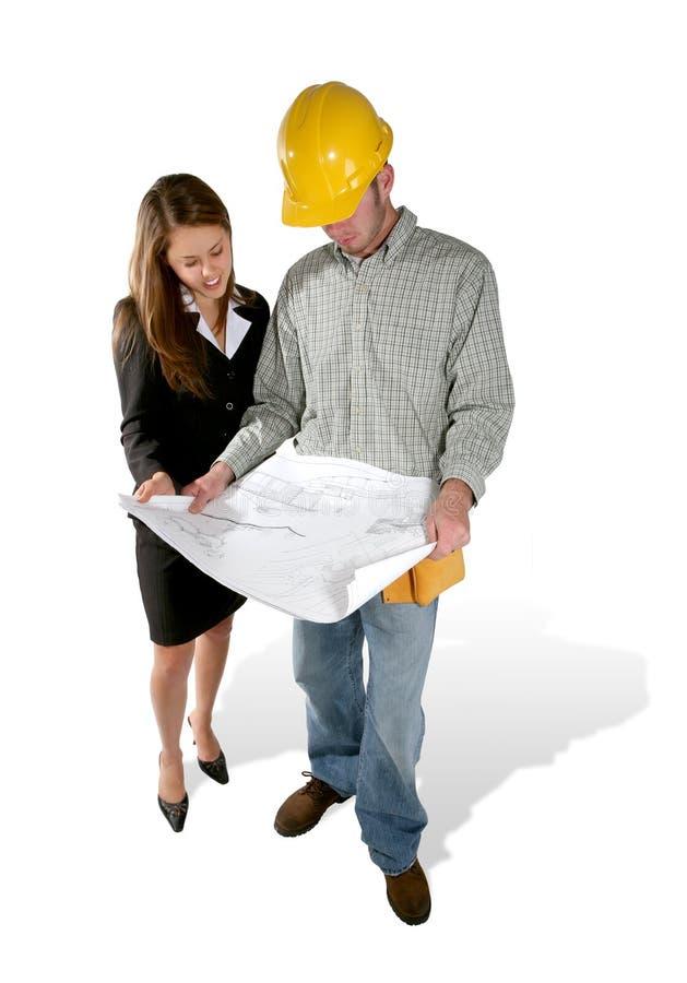 Construction à la maison photo libre de droits