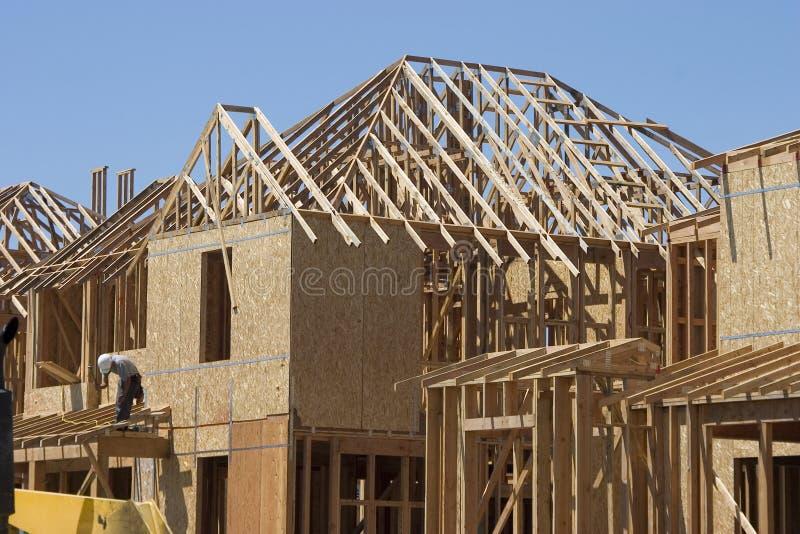 Construction à la maison photographie stock