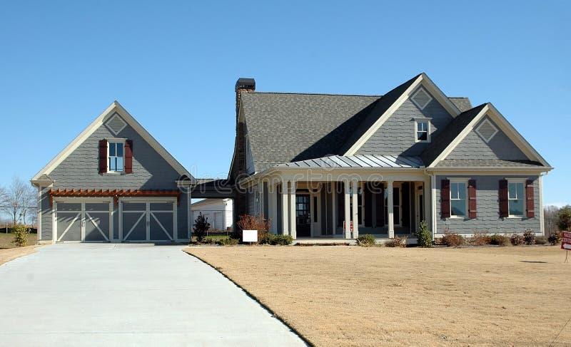 Construction à la maison neuve image libre de droits