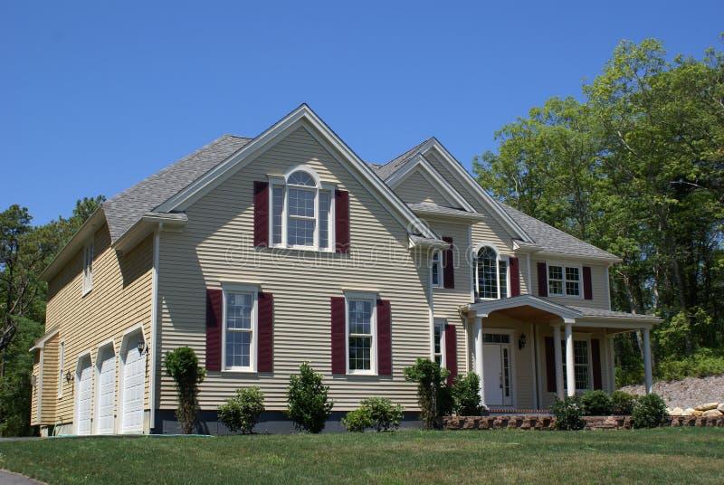 Construction à la maison neuve. photographie stock
