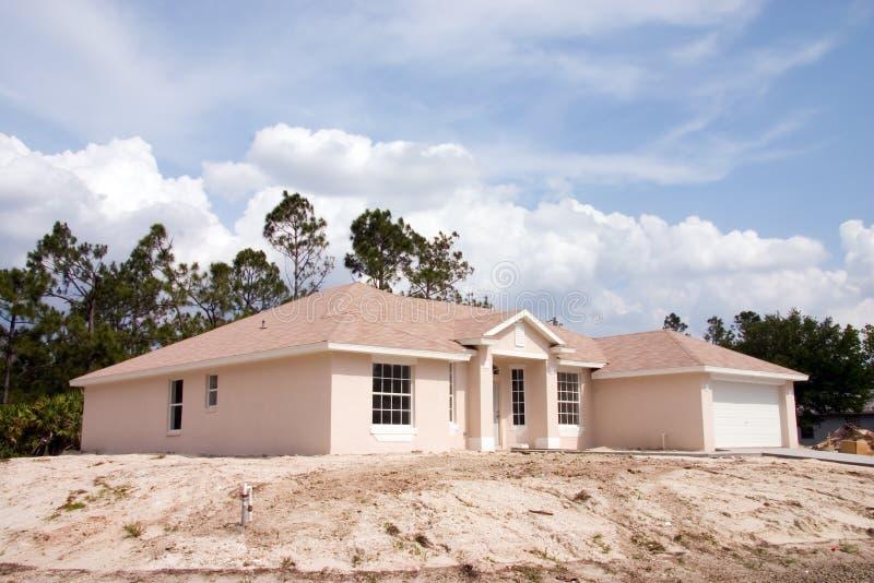 Construction à la maison neuve photos libres de droits