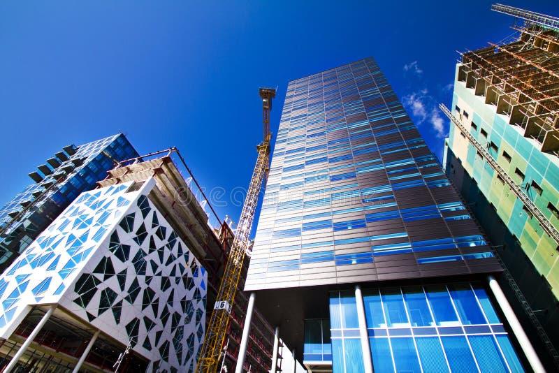 Construction à Oslo, Norvège photos libres de droits